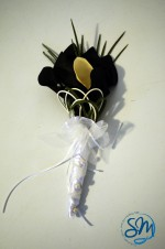 Bouquet da sposa nero/Black bridal bouquet