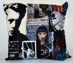 Cuscino-Omaggio a James Dean/Cushion-Tribute to James Dean