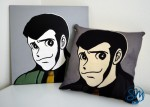Serie Cartoon - Cuscino Arsenio Lupin/Cartoon Series - Arsenio Lupine Cushion