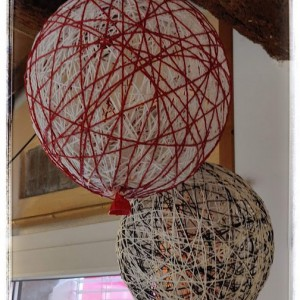 Palloncini in spago/Twine balloons