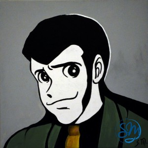 Arsenio Lupin Cartoon